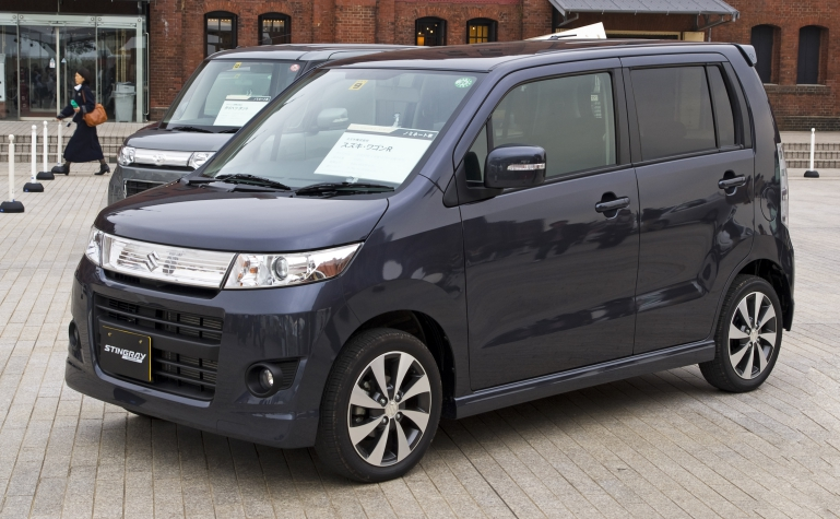 Suzuki Wagon R Stingray фото