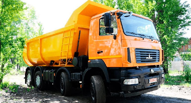 Самосвал МАЗ-6516С9-520/Renault/ZF