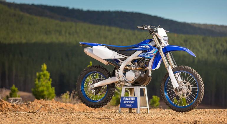 Одно из первых мест рейтинга - мотоцикл Yamaha WR250F